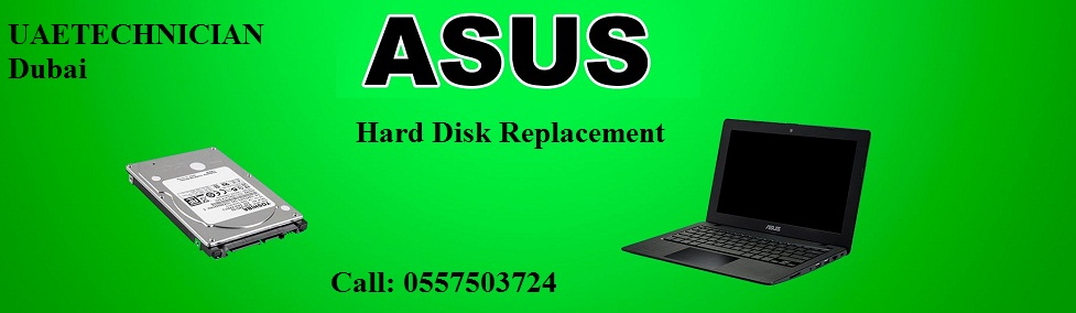 ASUS laptop hard disk replacement