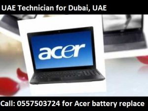 Acer Laptop Battery Replacement in Dubai