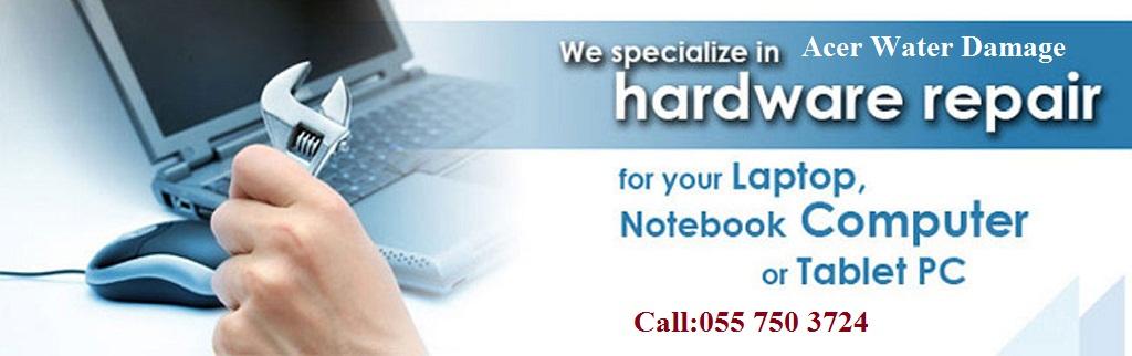 Acer laptop Water Damage