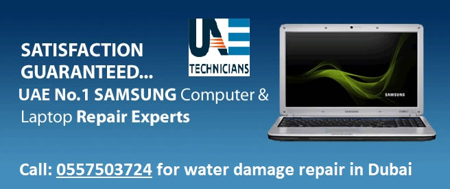 SAMSUNG Laptop Water Damage Repair