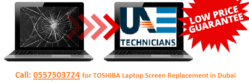 TOSHIBA Laptop Screen Replacement
