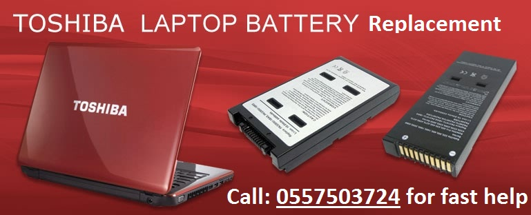 TOSHIBA Laptop battery Replacement