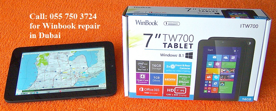 Winbook repair services
