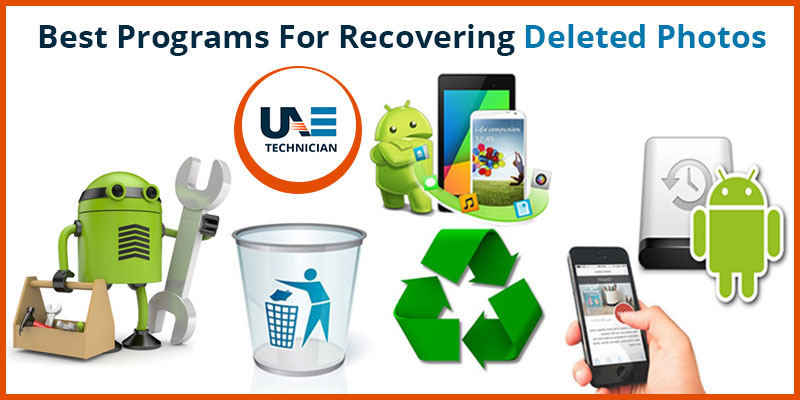 Programs for Recovering Deleted Photos
