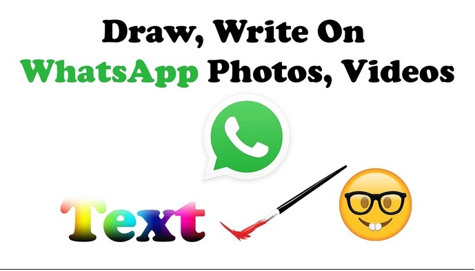 Draw on photos and videos with WhatsApp
