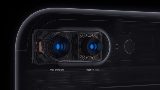 How telephoto lens works on the smartphone