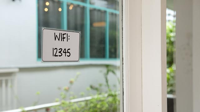 Set up Wi-Fi password