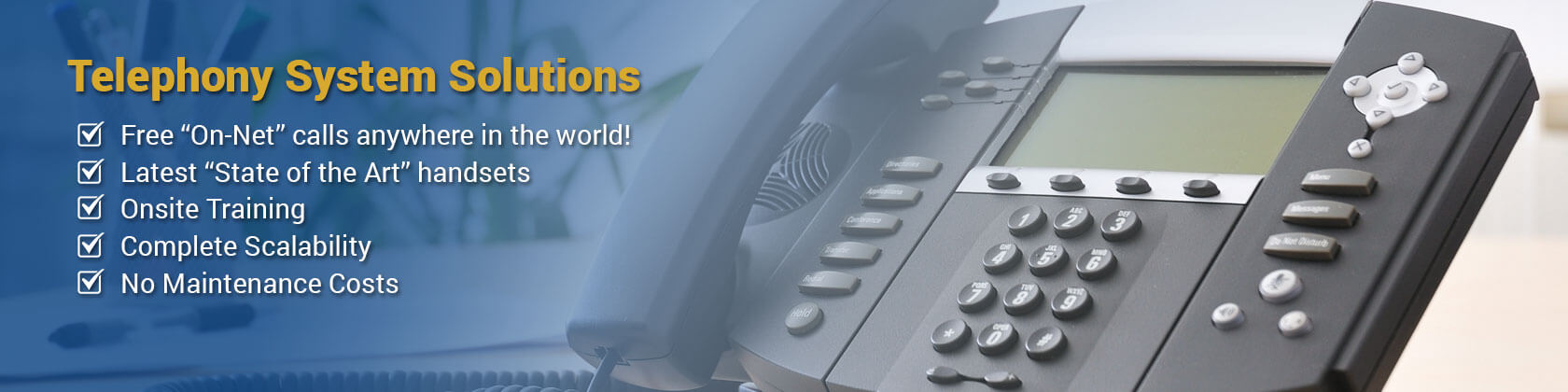 Telephony-solutions