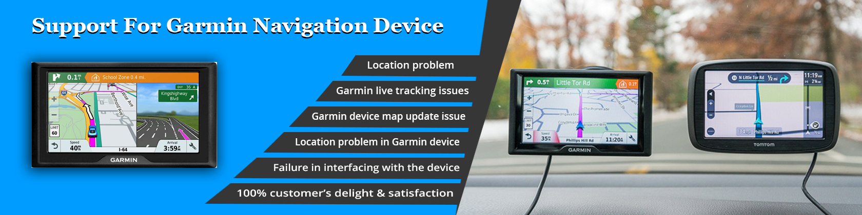 Garmin Navigation -banners