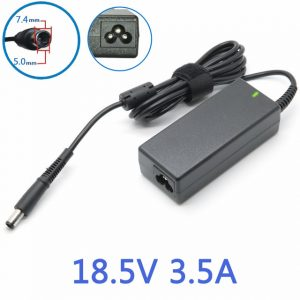 HP Laptop Charger 18.5V 3.5A 7.4*5.0mm