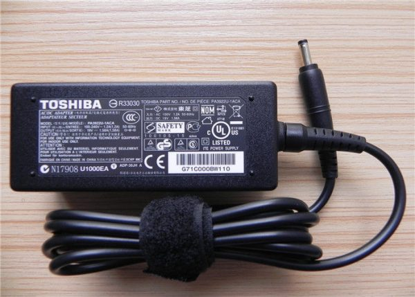 Toshiba Laptop Charger 19V 1.58A