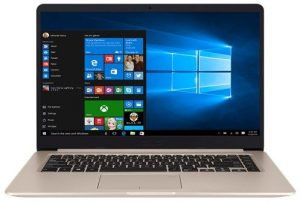 ASUS S510UR-BQ062T GOLD (SLIM) CORE i 5 7200U 2.5 8GB 1TB 15