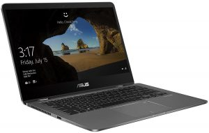 ASUS TP 410UF-EC002T-GREY CORE i 7 8550U 1.8 8GB 1TB 14