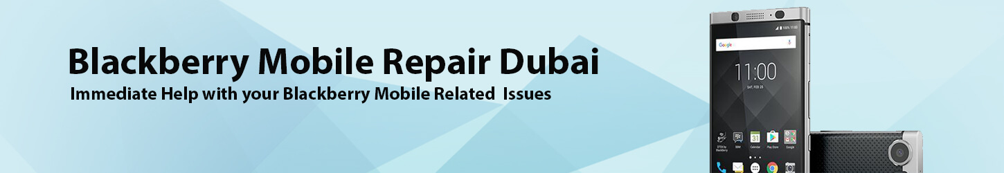 Blackberry Mobile Repair Dubai