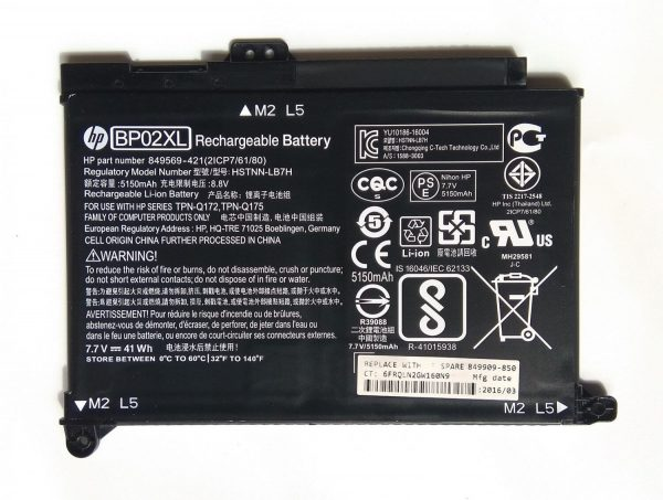 HP BPO2XL Battery