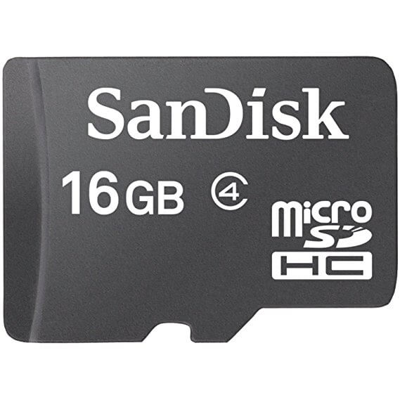 Sandisk Micro SD Card Class 4 16GB