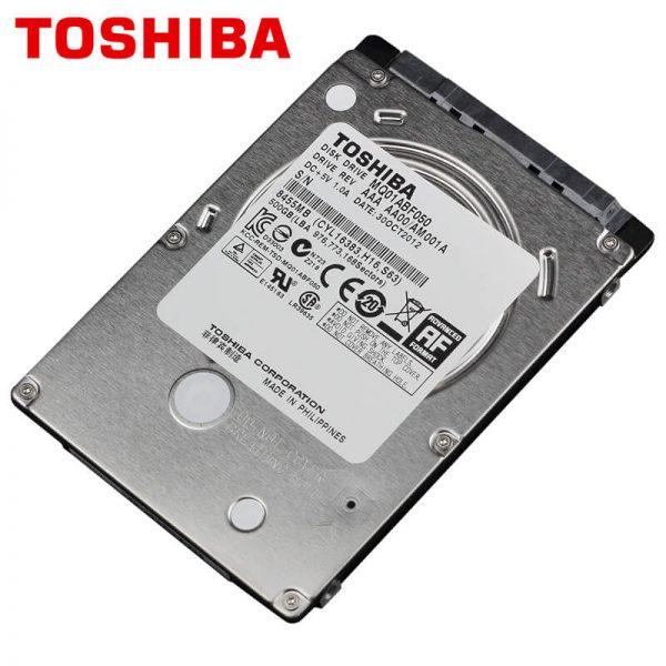 Toshiba HDD 500 GB 2.5in