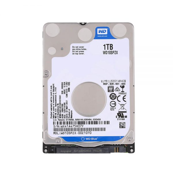 WD HDD 1 TB 2.5in