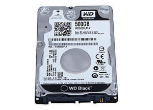 WD HDD 500 GB 2.5in