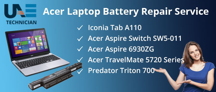 Acer Laptop Battery Replacement