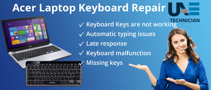 Acer Laptop Keyboard Replacement