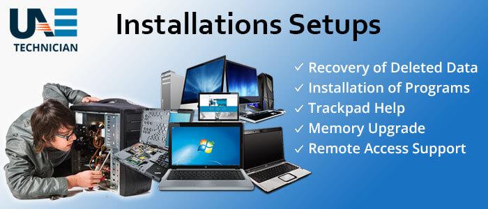 Computer Installations & Setups