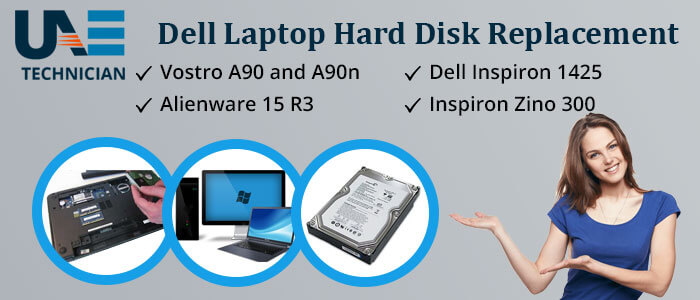 Dell Laptop Hard Disk Replacement