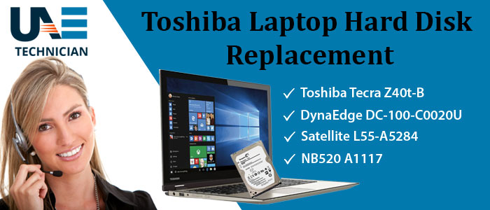 Toshiba Laptop Hard Disk Replacement