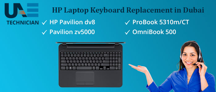 HP Laptop Keyboard Replacement