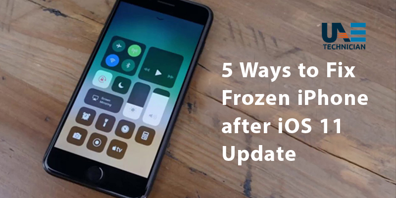 5 Ways to Fix Frozen iPhone after iOS 11 Update