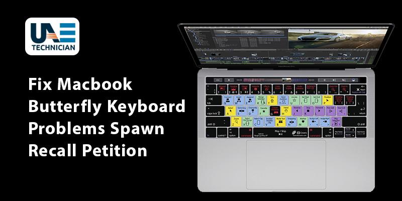 MacBook Butterfly Keyboard Problems