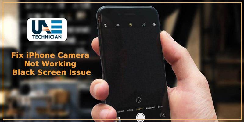 Fix iphone camera not working black screen