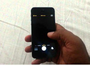 iphone camera not working black screen