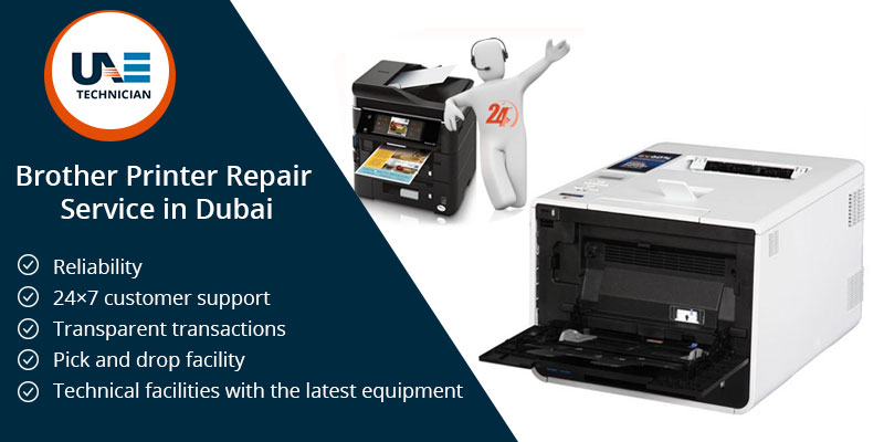 Brother Printer Repair Service in Dubai
