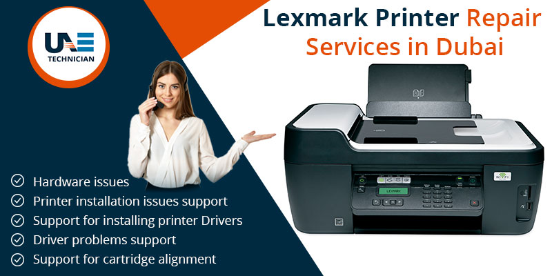 Lexmark Printer Repair Services in Dubai