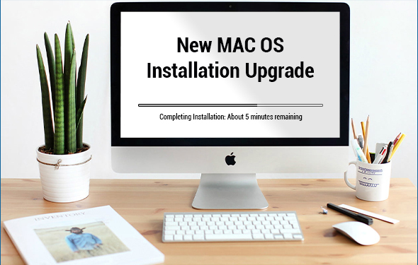New MAC OS Installation Upgrade