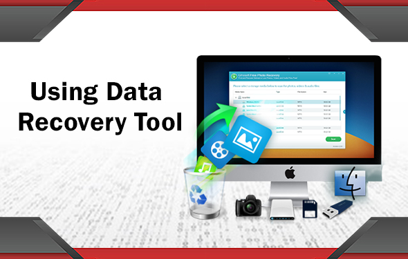 Using Data Recovery Tool