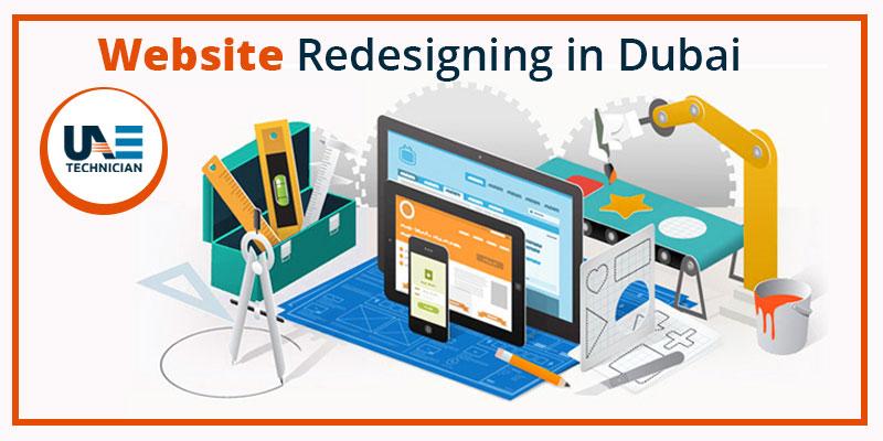 web redesiging company in Dubai
