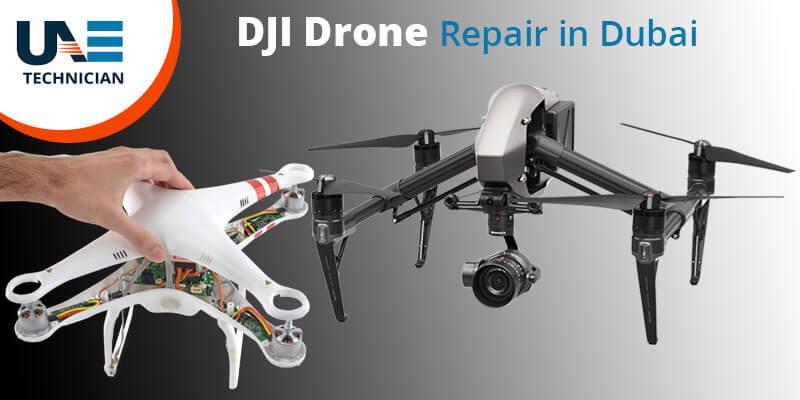 DJI drone repair in Dubai