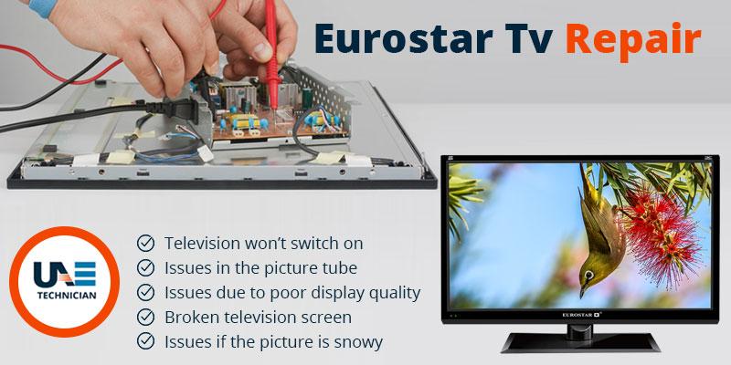 Eurostar TV repair