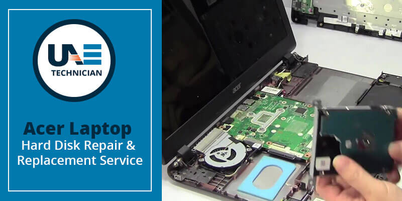 Acer Laptop Hard Disk Repair & Replacement Service