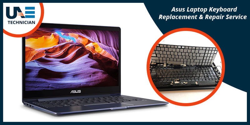 Asus Laptop Keyboard Replacement & Repair Services