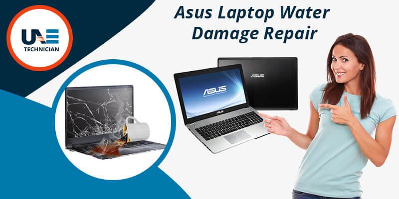 Asus Laptop Water Damage Repair