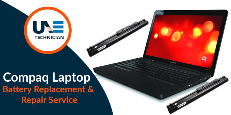 Compaq Laptop Battery Replacement & Repair Service