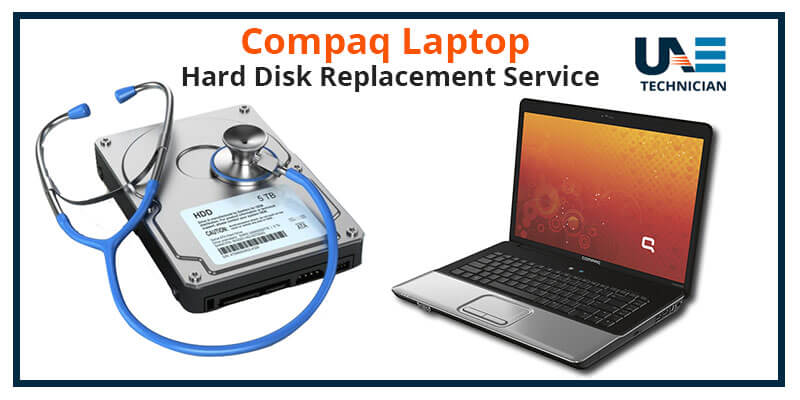 Compaq Laptop Hard Disk Replacement Service