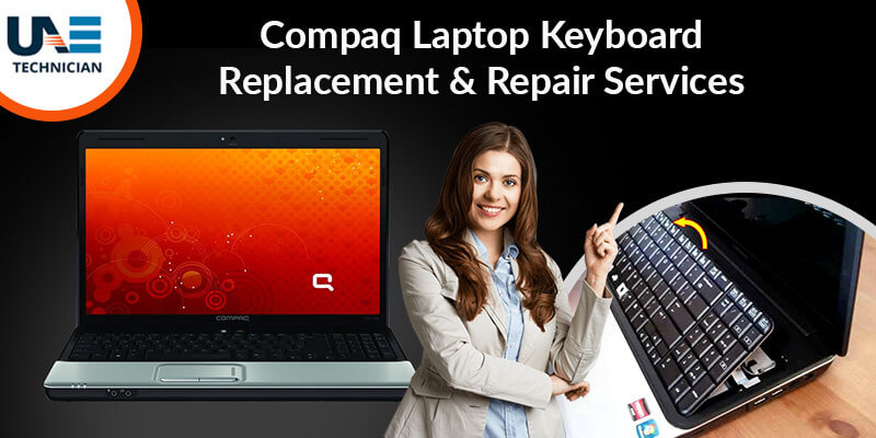 Compaq Laptop Keyboard Replacement & Repair Services