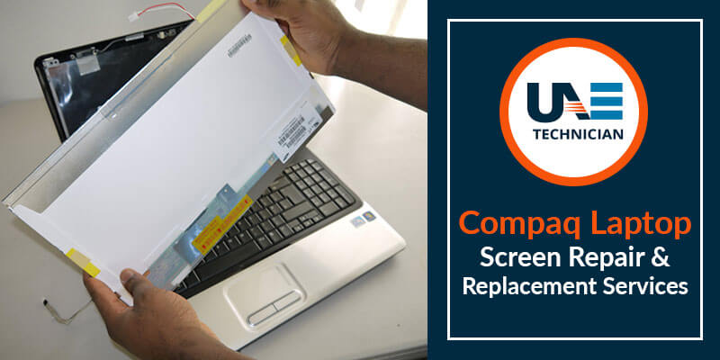 Compaq Laptop Screen Repair & Replacement Services