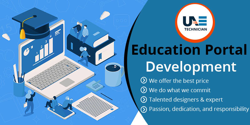 Education Website Portal Development