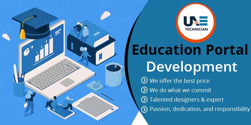 Education Website Portal Development