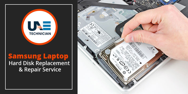 Samsung Laptop Hard Disk Replacement & Repair Service